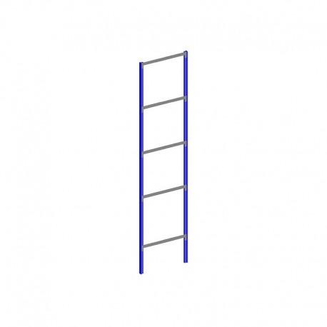 Spalla completa altezza 2,5 metri